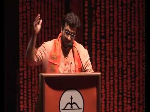 Shivsena vardhapan din shri amol kolhe speech at rangsharda bandra 19 june  2014