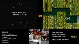 European Speedster Assembly 2012 - Mega Man 2 race Frezy_Man vs. Arva (Part 2)