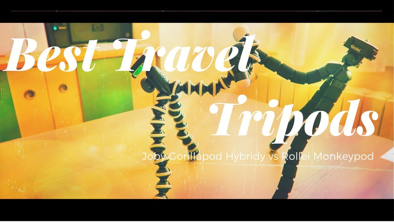 Best Travel Tripod: GorillaPod vs Monkey Pod - Best Travel Gear