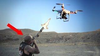 5 Schockierende Ausraster wegen Drohnen!
