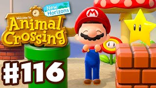 New Mario Items! - Animal Crossing: New Horizons - Gameplay Part 116