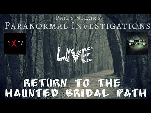 #PPP Returns to the Haunted Bridal Path LIVE!