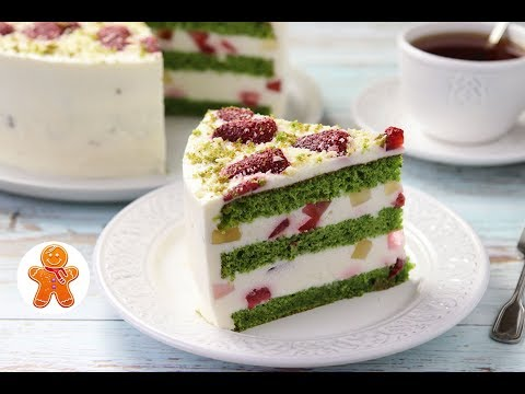 Торт 'Изумрудный Бархат'
