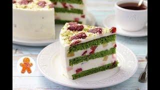 "Торт ""Изумрудный Бархат"" ✧ Emerald Velvet Cake (English Subtitles)"