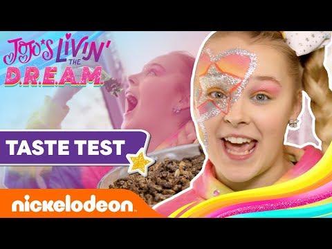 JoJo Siwa's Tour Taste Test W/ Cricket Bites & More! 🦗JoJo's Livin' The D.R.E.A.M.   Ep. 8   Nick