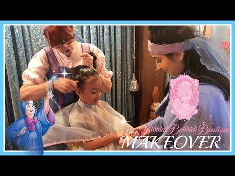 Disney Princess Makeover BIBBIDI BOBBIDI BOUTIQUE + Meeting The Princesses  |Vlog With Emma