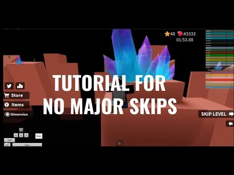 How To Skip Levels In Speed Run 4 Roblox Youtube Tutorial For New No Major Skips By Whatinatorwhatinator Guides Roblox Speed Run 4 Speedrun Com