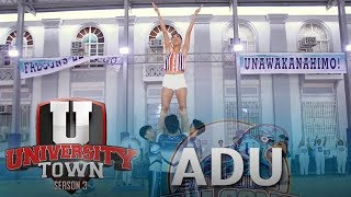 UTOWN: Alyssa Valdez becomes cheerleader for a day with the Adamson Pep Squad