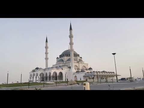 Sharjah Largest Mosque Beautiful View. #ramadan