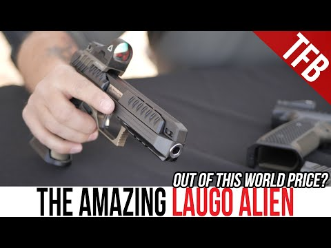 Hands on with the $5,000 Laugo Alien Pistol At Range Day [SHOT Show 2020]