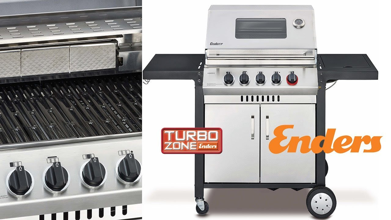 Enders Gasgrill Monroe 3 Sik Turbo : Газовый гриль enders monroe 3 sik turbo youtube