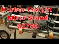 Harbor Freight Miter Stand 62750
