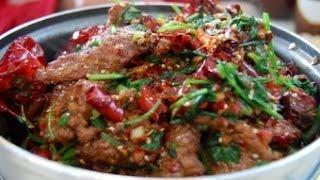 Китайская кухня_Острая говядина по китайски
