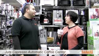 Jura Capresso Automatic Coffee Station at Zabar's