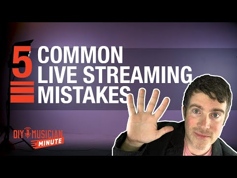 Are you making one of these live-streaming mistakes?