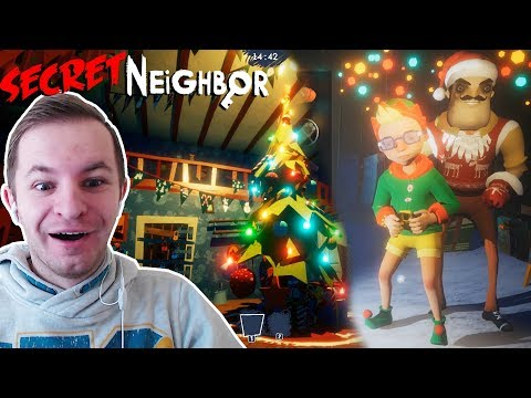 СОСЕД ПОЗДРАВЛЯЕТ С НОВЫМ ГОДОМ | Secret Neighbor