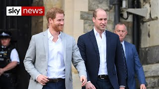 Author robert lacey discusses his book, battle of brothers, and the widely reported rift between royal princes william harry.speaking to sky's sarah ...