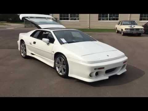1989 lotus esprit turbo 5 speed 38k miles for sale