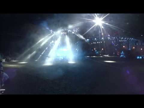 LIVE: Watch in 360 as Night Wolves show off their stunts in Sevastopol