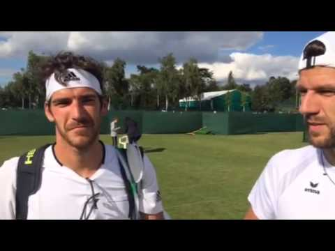 Melzer Brothers Face Off In Wimbledon 2015 Qualifying