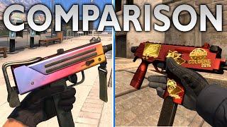 CS GO IN DEPTH BREAKDOWN - MAC-10 & MP9 Comparison Guide