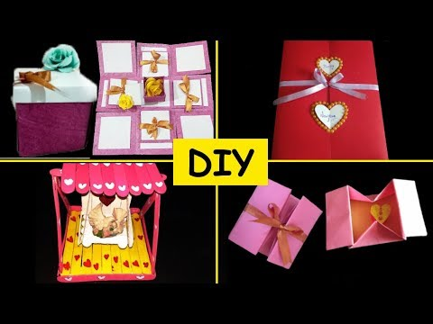 DIY Valentine's Day gift Ideas For Him/Her | Simple Artworks
