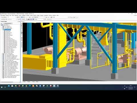 Thiết kế đường ống công nghệ nhà máy 3D – Layout thiết bị