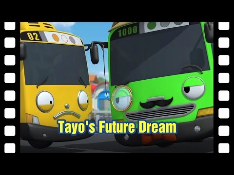 📽What do you want to be when you grow up Tayo? l Tayo's Little Theater #11 l Tayo the Little Bus