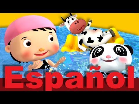 Vamos a nadar | Canciones infantiles | LittleBabyBum