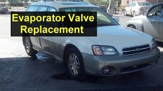 subaru outback evaporator system vent valve near charcoal canister replacement auto repair series