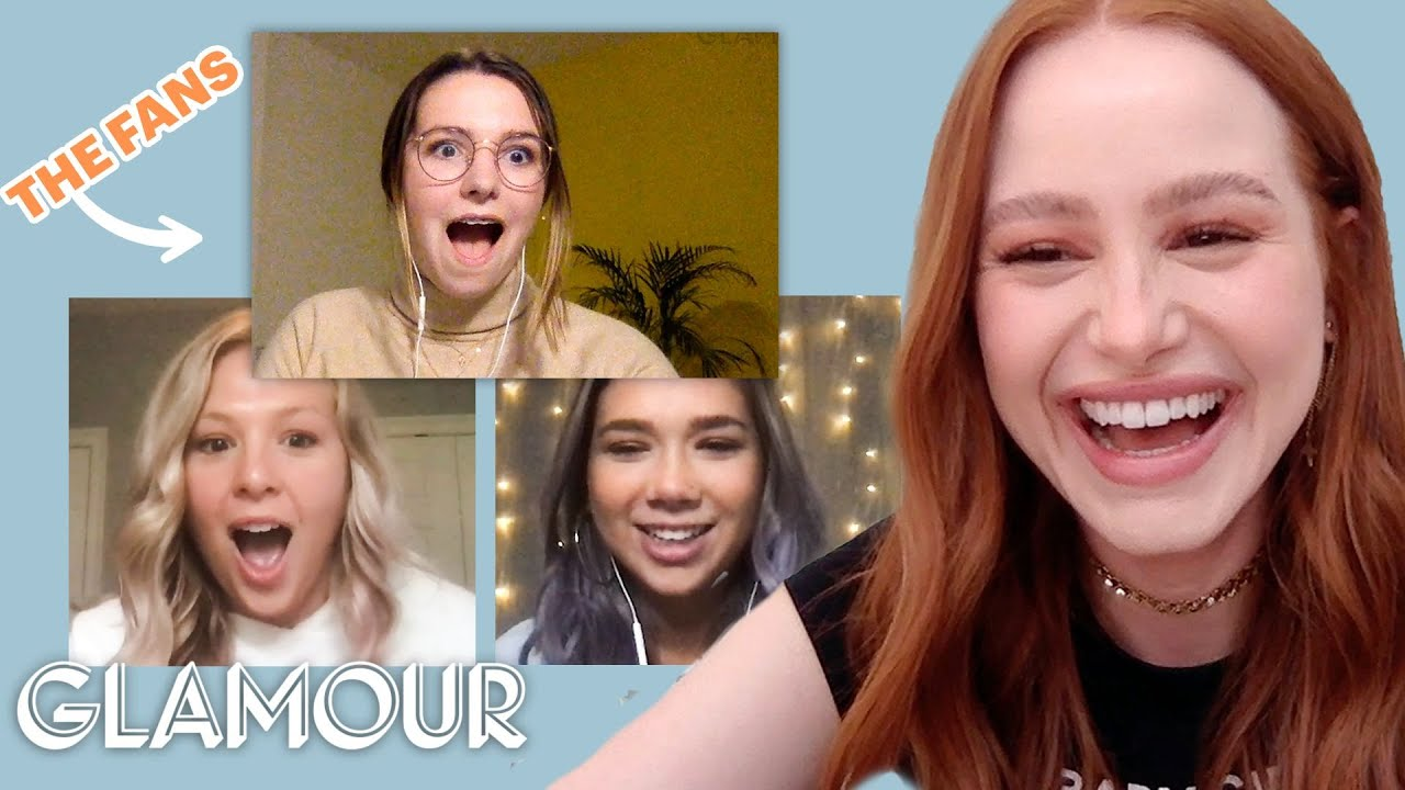 Madelaine Petsch Crashes Her Own Fan Watch Party | Glamour