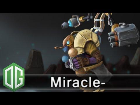 OG. Miracle- Tinker Gameplay - Ranked Match - OG Dota 2