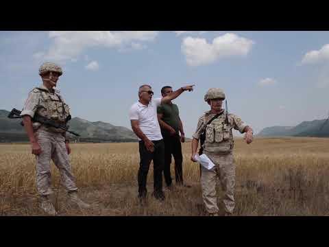 Обеспечение безопасности сбора урожая зерновых в Нагорном Карабахе