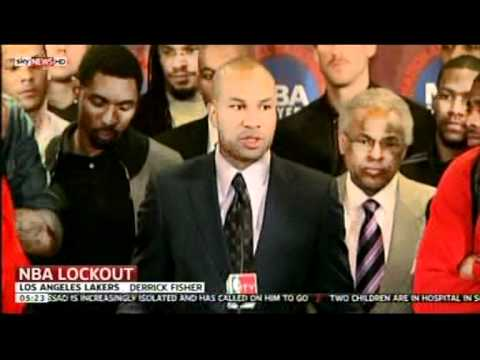NBA Lockout still goes on (Nov 2011 - Sky News)