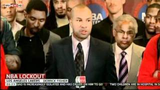 NBA Lockout still goes on (Nov 2011 - Sky News)