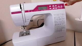 #Джаноме 4030DC.Моя новая швейная машина