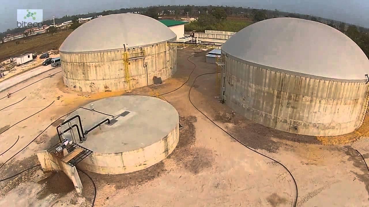 1MW biogas plant, Thailand  Biteco Biogas