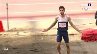 Το άλμα του χρυσού ολυμπιονίκη Μίλτου Τεντόγλου στα 8,41 μέτρα!