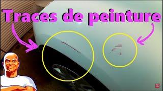 Effacer GRATUITEMENT rayures de peinture sur carrosserie voiture - Transfert de peinture TUTO