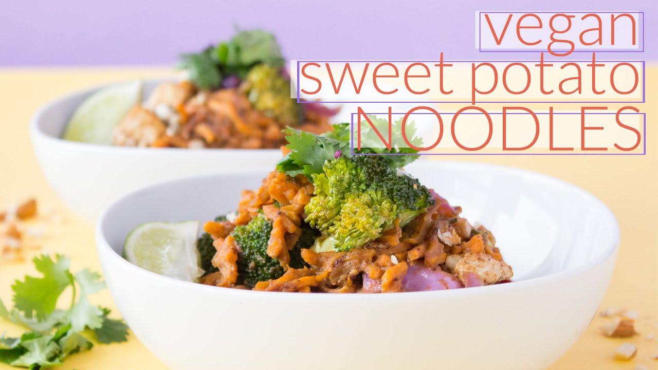 How to Make Sweet Potato Noodles