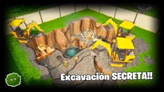 *NEW* SECRET Excavation!! + call me *TOXICO* Battle Royale: Fortnite RexiRexi728
