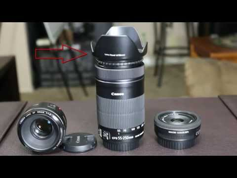 DSLR Photography Tutorials - Introduction to Camera Lenses