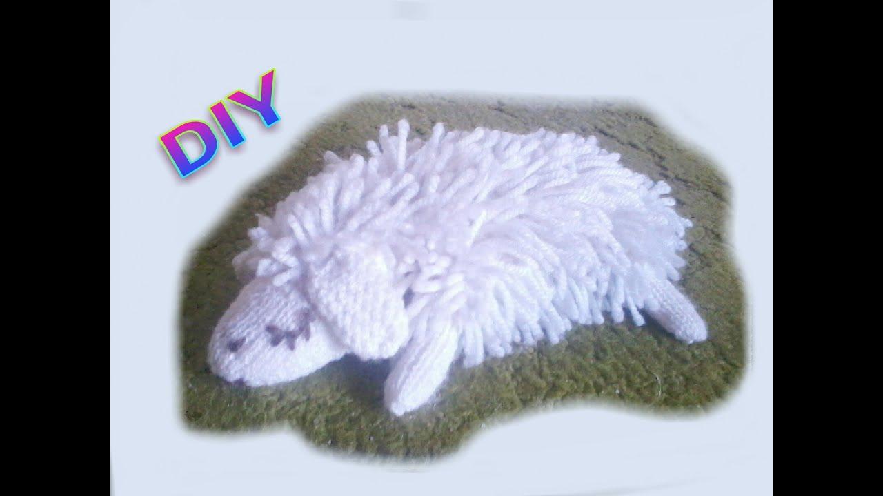 Häkeln Stricken Schlafendes Schaf Youtube