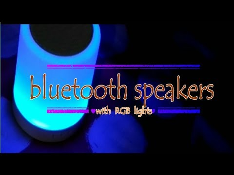 Smart Music Lamp | Bluetooth speaker and RGB lamp | Unboxing and quick review | 👌👌