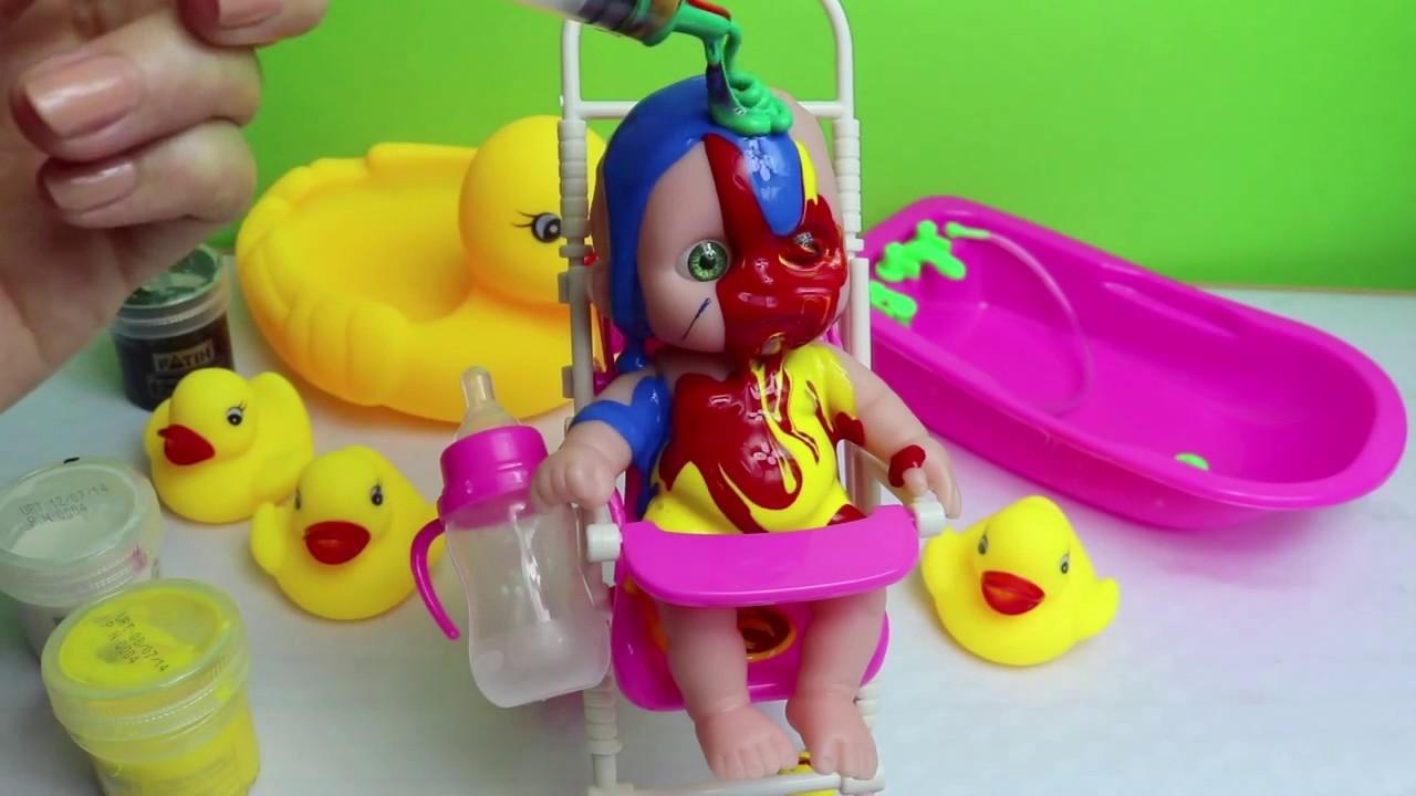 Eğlenceli Bebek Boyama Youtube