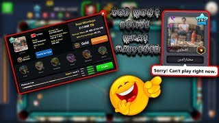 You should need to watch this video - 8 ball pool