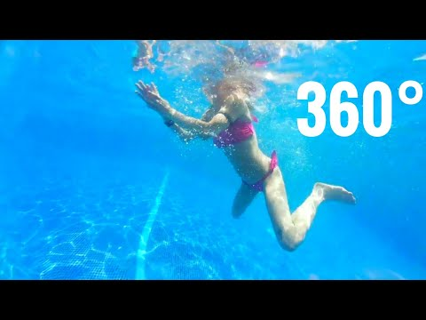 Swimming in the Pool Spain [360 Video VR]