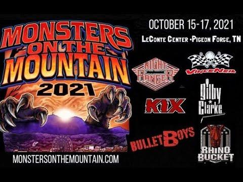 VINCE NEIL, GILBY CLARKE, NIGHT RANGER set for Monsters On The Mountain 2021