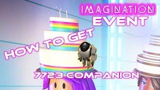 How to Get the 7723 Companion - ROBLOX IMAGINATION EVENT (Make a Cake)
