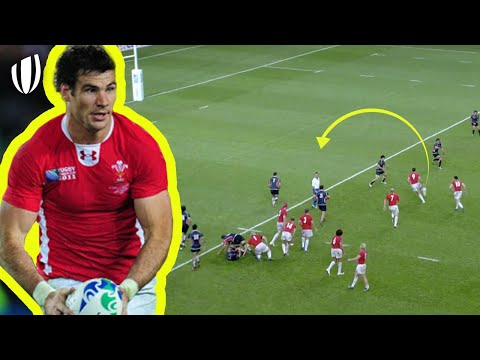 An UNBELIEVABLE Chip & Chase Try! | Rugby World Cup |